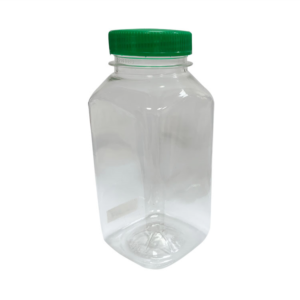 Boca plastična  (PET) sa poklopcem 0,25 L d=38 mm kvadratna (300 kom/pak)