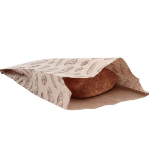 Papirna vrećica sa motivom kruh 200 x 50 x 320 mm