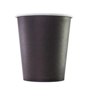 Čaša papirnata 1sloj 250 (280) ml d = 80 mm za tople napitke, crna