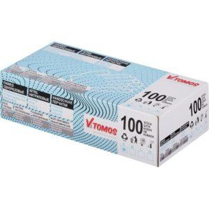 Rukavice nitril bez pudera ToMoS 100kom/pak S, plave