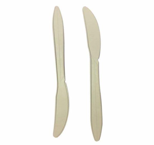 Nož biorazgradiv Tambien ECO 160 mm, natur boja (50 kom/pak)