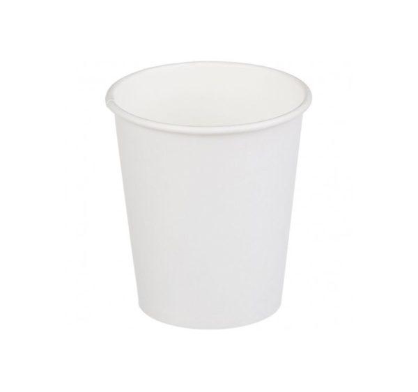 Papirna čaša 1-sl 250 ml d=80 mm bjela (50 kom/pak)