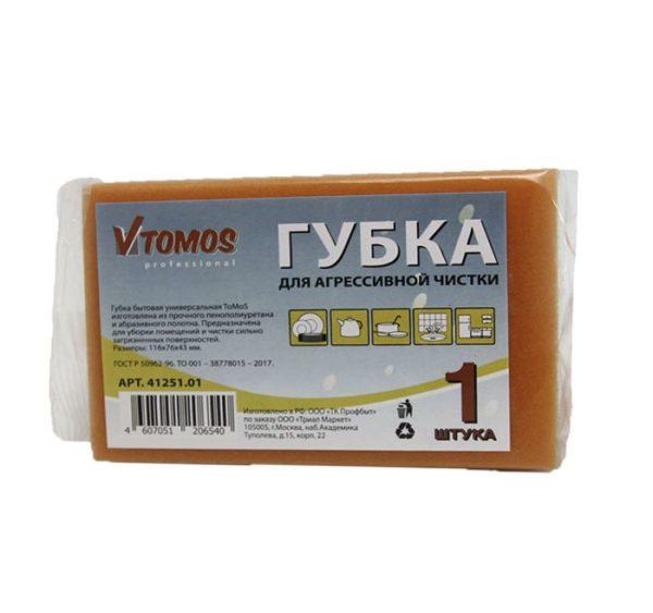 Sunđer za agresivno čišćenje 116x76x43 mm 1kom/pak ToMoS
