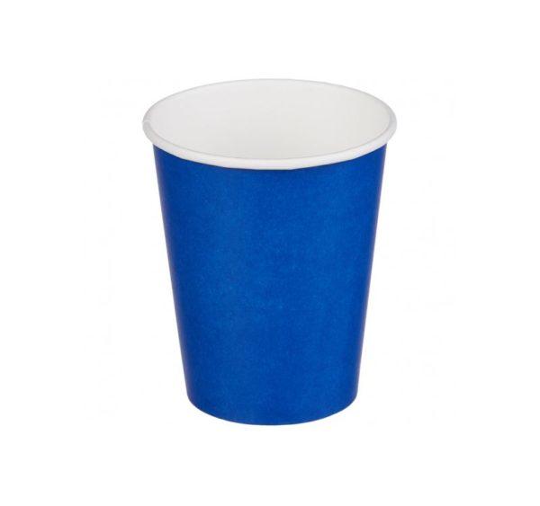 Papirna čaša 1-sl 250 ml d=80 mm plava (50 kom/pak)
