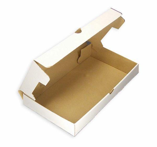 Pakovanje 33×23 cm bijeli valoviti karton (50 kom/pak)