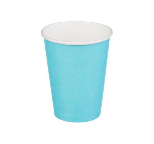 Papirna čaša 1-sl 300 ml d=90 mm tirkizno (50 kom/pak)