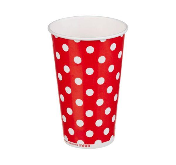 Papirna čaša 1-sl 400 ml d=90 mm Lolipop za hladna pića (50 kom/pak)