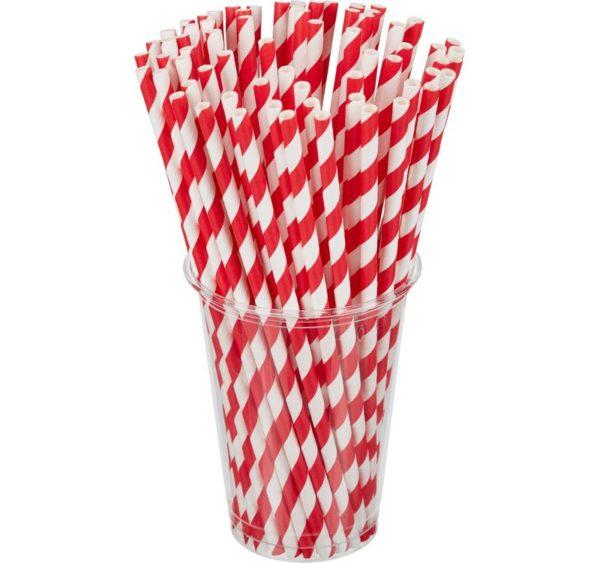 "Slamčice Tambien ECO papirnate za jednokratnu upotrebu 210×6 ""Lollipop"" 100kom/pak"