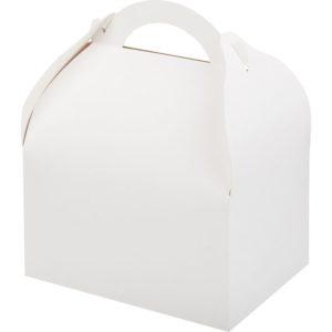 Kutija za tortu, desert 170x130x100 mm, bijela (90 kom/pak)
