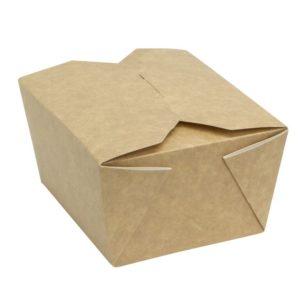 Kartonska kutija Fold Box 950 ml 170x135x50 mm kraft (400 kom/pak)