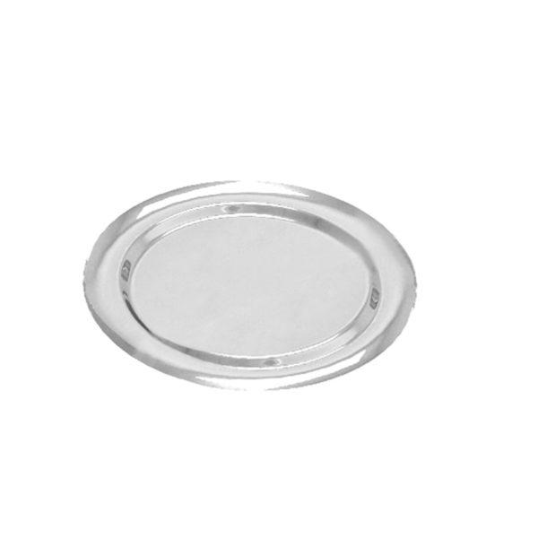 Tacna okrugla PET d=270 mm Gold Plast srebrna (5 kom/pak)