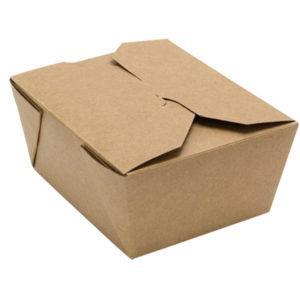 Kartonska kutija Tambien ECO 1400 ml 175x140x63 mm obostrani kraft (200 kom/pak)