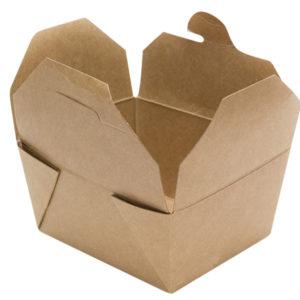 Kartonska kutija Tambien ECO 2100 ml 215x158x63 mm obostrani karft (50 kom/pak)
