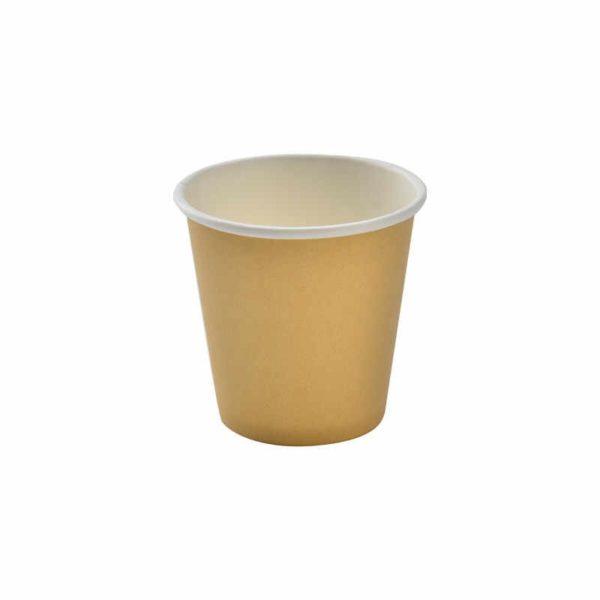 Papirnat kozarec 1 sl 85 (100) ml za tople napitke, d=62 mm kraft (45 kom/pak)