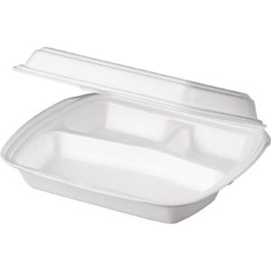Lunch box 3-delna 250х206х65mm LB-3 (100 kos/pak)