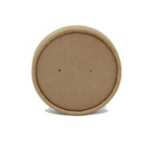 Kartonski poklopac Tambien ECO d=90 mm, kraft (25 kom/pak)