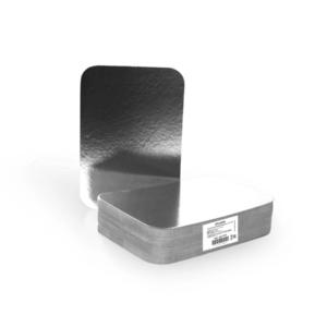 Aluminijumska posuda sa poklopcem 880 ml 218х156х38 mm 50 kom (komplet)
