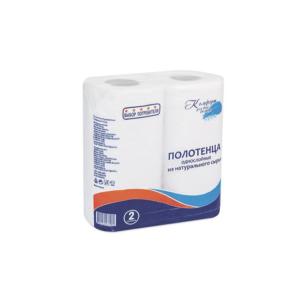 Papirni ubrusi 1-sl, 2 role/paket bijela