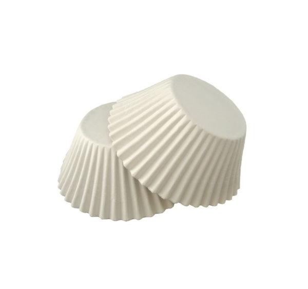 Minjoni papirne korpice za pecivo okruglid=55mm h=42,5mm bijeli (1000 kom/pak)