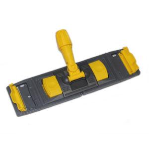 Držač za brisač poda za mokro brisanje 40х11 cm plastika, džepovi / krilo (NPK195)