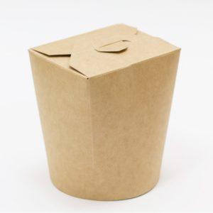 Kartonska kutija za WOK 500 ml 103x84x975 mm kraft (30 kom/pak)