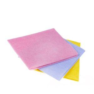 Krpa viskozna univerzalna za suho i mokro čišćenje 30x38cm ružičasta 5 kom/pak