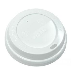 Poklopac sa bočnim otvorom PS d=80 mm, bijeli (100 kom/pak)