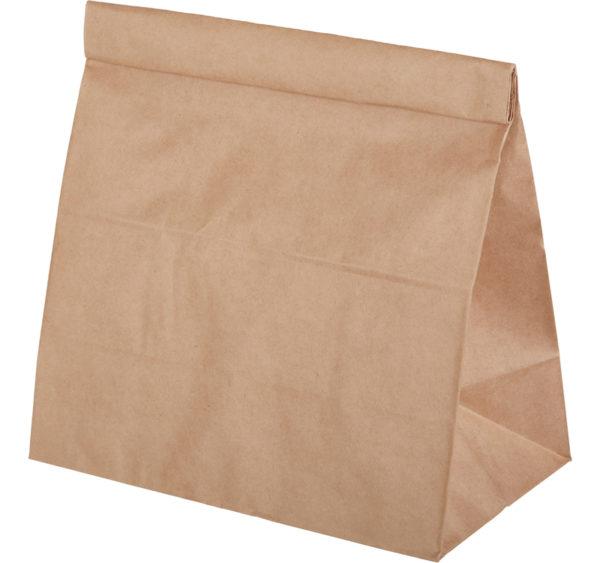 Papirna kesa 220х120х290 mm kraft (100 kom/pak)