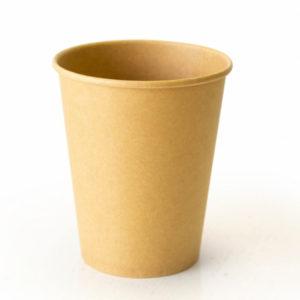 Papirna čaša 2-sl 250 ml d=80 mm puni kraft (25 kom/pak)