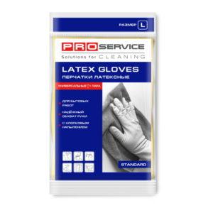 Gumijaste rukavice, prevlečene z bombažem L