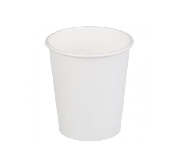 Papirna čaša 2-sl 250 ml d=80 mm bijela (20 kom/pak)