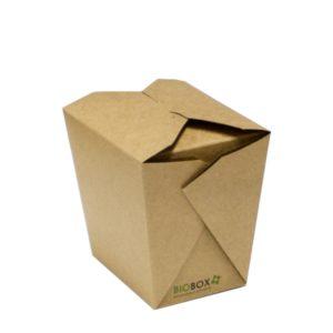 Kartonska kutija za WOK BioBox 700 ml kraft