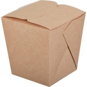 Kartonska kutija ECO Noodles 700 ml 81x81x106 mm pravougaono dno kraft (360 kom/pak)