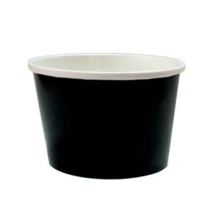 Kartonska posuda za supu 500 ml d=98 mm h=99 mm crna (50 kom/pak)