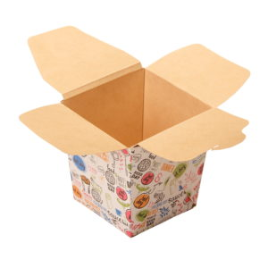 Kartonska kutija ECO Noodles 560 ml 95x95x100 mm pravougaono dno Enjoy (420 kom/pak)
