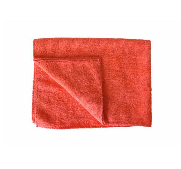 Krpa od mikrofibre 50×80 cm za pod crvena