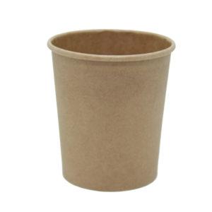 Kartonska posuda za supu Tambien ECO 440 ml d=75 mm h=100 mm kraft (25 kom/pak)