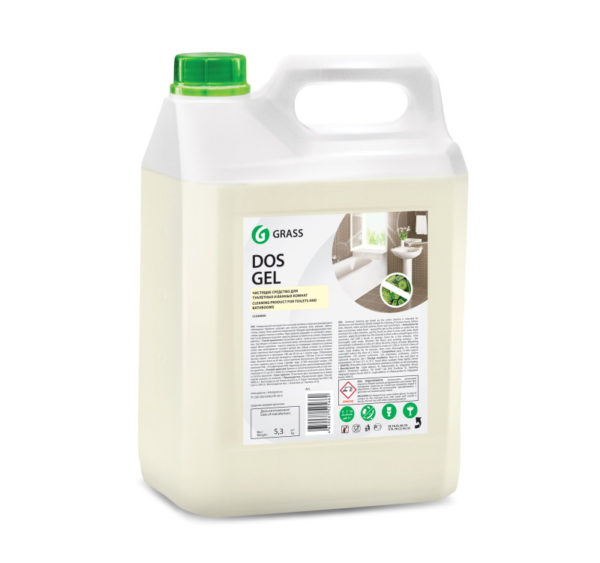 Sredstvo za čišćenje sanitarija 5kg GraSS Dos Gel (125240)