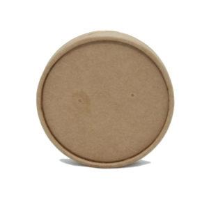 Poklopac papirnati za supu Tambien ECO-d 97 mm, kraft (25 kom/pak)