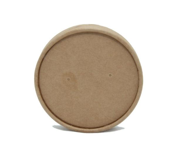 Kartonski poklopac Tambien ECO d=97 mm, kraft (25 kom/pak)