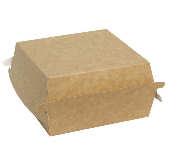 Kutija za burger Combi box 120x120x70mm kraft