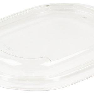 Oval Lid RPET Clear 15x19cm 6X50p (50 kom/pak)