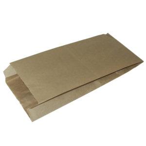 Papirna kesa sa prozorom 170(110)x80x200 mm obojena (1200 kom/pak)
