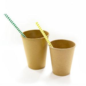 Papirna čaša 1-sl 300 ml d=90 mm puni kraft (50 kom/pak)