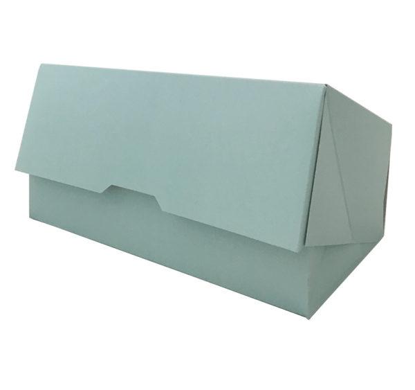 Kutija za desert 200x110x70 mm, tirkizna (150 kom/pak)