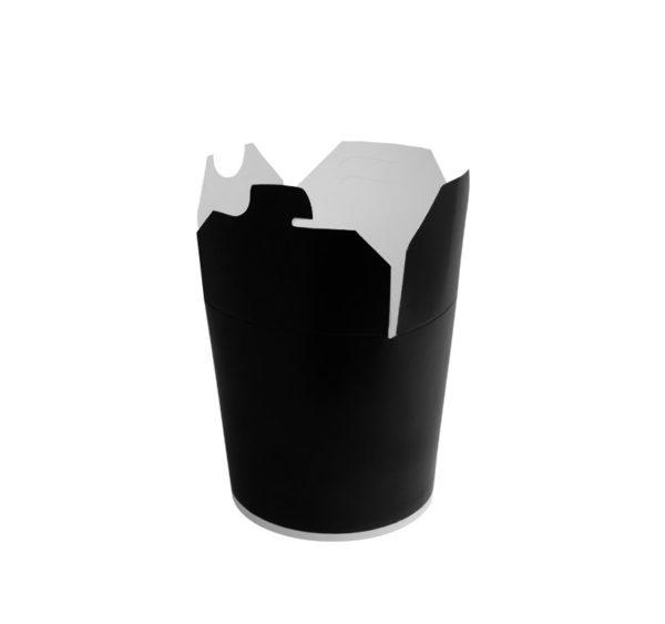 Kartonska kutija za WOK 450 ml crna (50 kom/pak)