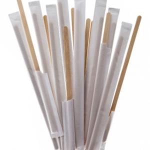 Bambus štapić za mešanje 17,8 cm pojedinacno pakovanje 250 kom