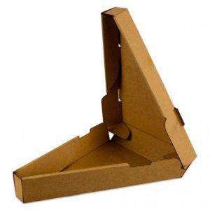 Kutija za picu 260(3)х40 mm trokutna kraft (50 kom/pak)