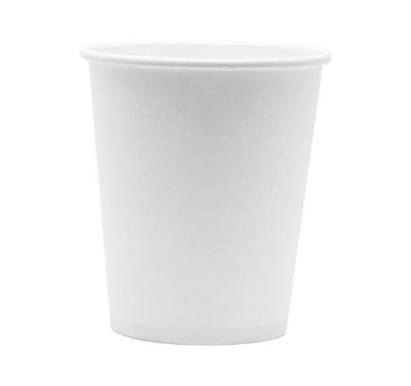 Papirna čaša 1-sk 185 ml d=73 mm bijela (100 kom/pak)