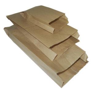 Papirna kesa 180x90x300 mm kraft (2000 kom/pak)